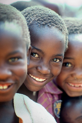 Smiles from Zimbabwe